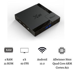 tv box x96 mate 4k